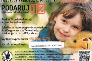 1 procent podatku dla przedszkola w Wieszowie