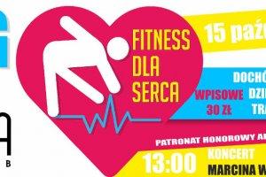Charytatywny bieg Fitness dla serca i koncert Marc