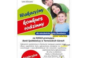 Wakacyjny Konkurs Rodzinny z Bankiem Spółdzielcz
