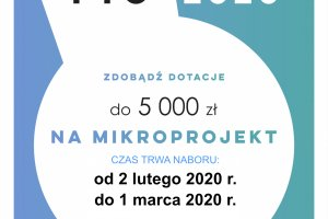 Mikrodotacje - Śląskie Lokalnie 2020