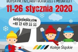 Koleją na ferie – bezpłatne przejazdy dla dzie