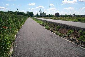 Miedary i Laryszów połączone ścieżką rowerow