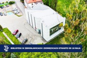 Biblioteki w Zbrosławicach i Ziemięcicach dostę