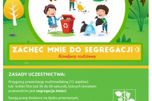 Zachęć mnie do segregacji - konkurs rodzinny