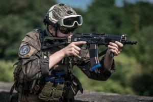 Szkolenia żołnierzy w powiecie tarnogórskim