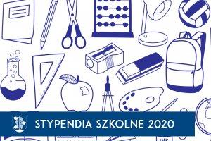 Stypendia szkolne na rok szkolny 2020/2021