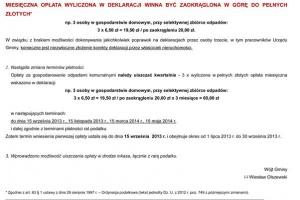 Obwieszczenia Wójta Gminy Zbrosławice